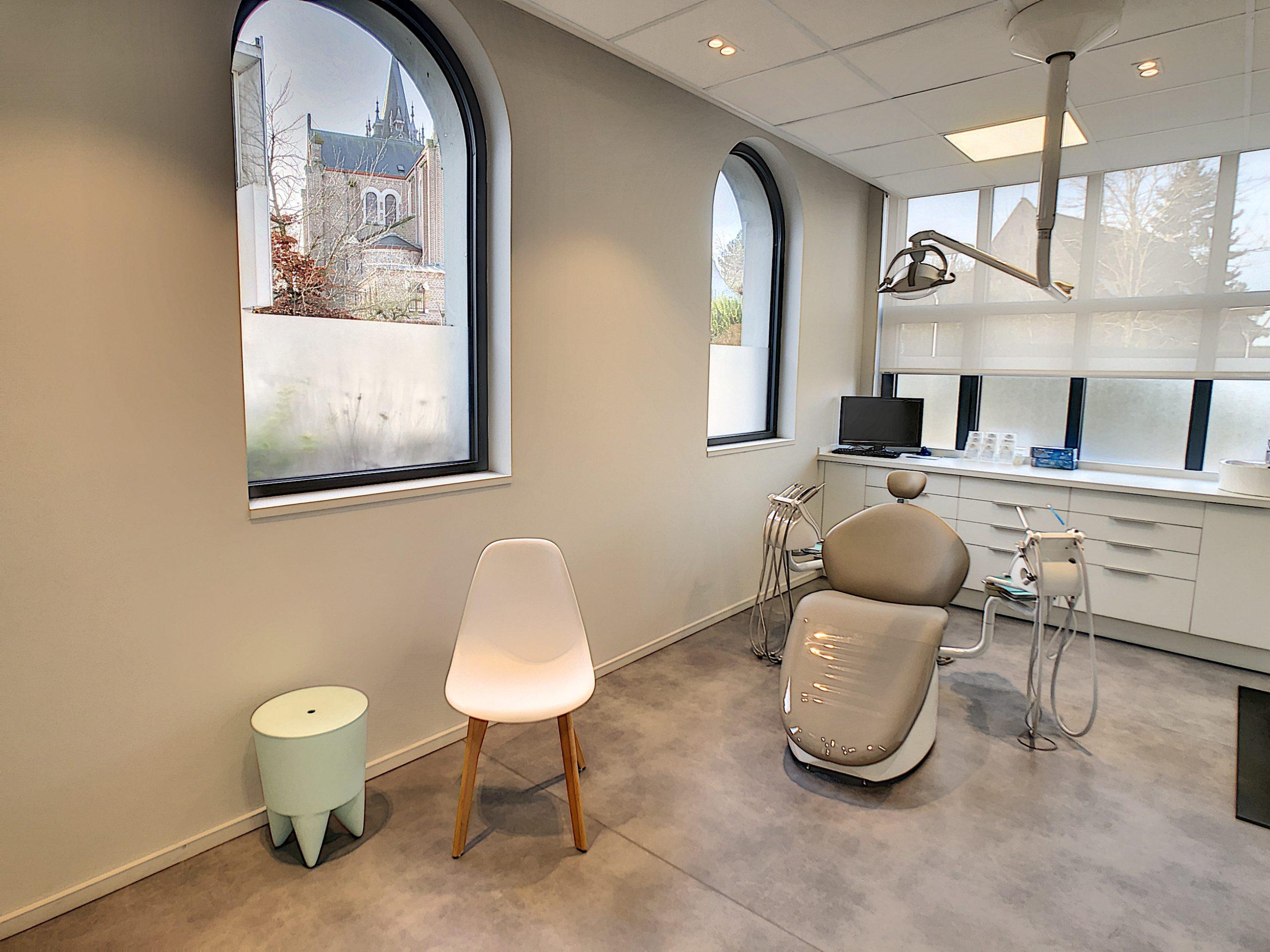 La salle de soin du cabinet d'orthodontie Cavrot Wambergue